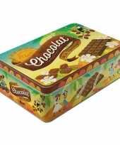 Goedkope chocolade bewaarblik liter