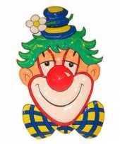 Goedkope clown decoratie