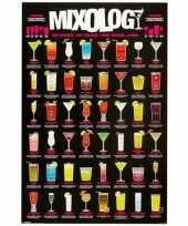 Goedkope cocktail poster