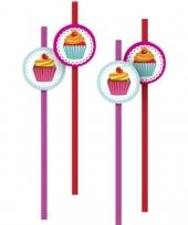 Goedkope cupcake rietjes stuks