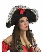 Goedkope dames piratenhoed strik