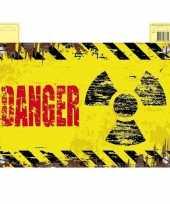 Goedkope danger deurbord geel