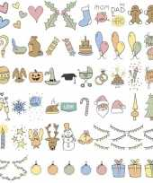 Goedkope deco a lichtbak lightbox feestdagen emoticons stuks
