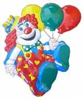 Goedkope decoratie clown ballonnen