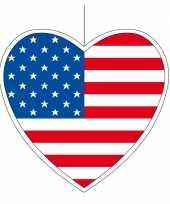 Goedkope decoratie hart amerika