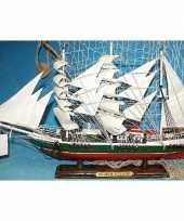 Goedkope decoratie houten model schip r rickmers