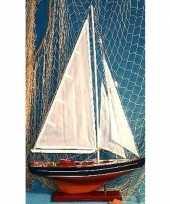 Goedkope decoratie houten model zeilschip