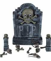 Goedkope decoratie kerkhof set