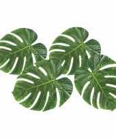 Goedkope decoratie tropische bladeren stuks