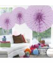 Goedkope decoratie waaier lila