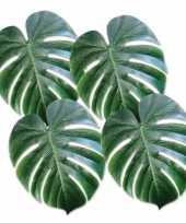 Goedkope decoratieve palm bladeren stuks