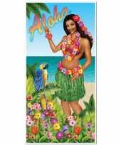Goedkope deurposter aloha