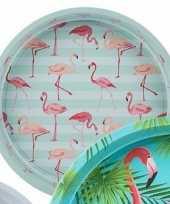 Goedkope dienblad flamingo mint
