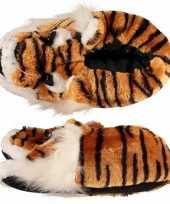 Goedkope dieren sloffen tijger dames