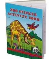 Goedkope dierentuin kleurboek stickers