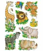 Goedkope dierentuin vriendjes stickers vellen