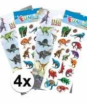 Goedkope dino kinder stickers pakket
