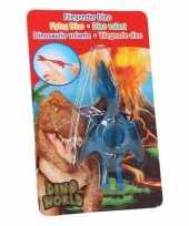 Goedkope dino world mini dino katapult pterosauri rs blauw