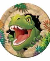 Goedkope dinosaurus feestbordjes stuks