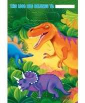 Goedkope dinosaurus feestzakjes stuks 10099711