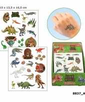 Goedkope dinosaurus plak tattoos jongens dino world