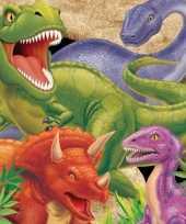 Goedkope dinosaurus servetten stuks