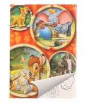 Goedkope disney bambi kleurboek setje
