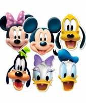 Goedkope disney maskers mickey and friends
