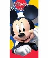 Goedkope disney mickey mouse badlaken strandlaken 10154897