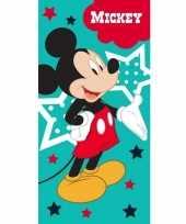 Goedkope disney mickey mouse badlaken strandlaken