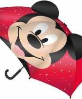 Goedkope disney mickey mouse paraplu jongens