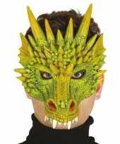Goedkope draak draken horror masker foam