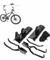 Goedkope fietslift fiets ophangsysteem tot meter