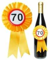 Goedkope fles decoratie rozet jaar verkeersborden goedkope 10060093