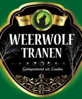 Goedkope flessen etiket weerwolf tranen
