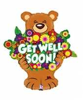 Goedkope folie ballon get well soon
