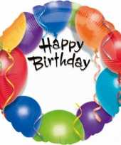 Goedkope folie ballon happy birthday 10073382