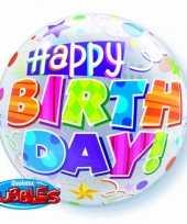 Goedkope folie ballon happy birthday
