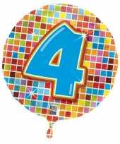 Goedkope folie ballon jaar 10053849