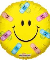 Goedkope folie ballon smiley pleisters