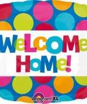 Goedkope folie ballon welkom thuis 10073041