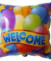Goedkope folie ballon welkom