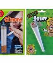 Goedkope fop pakket nep sigaret joint