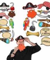 Goedkope foto prop set piraat 10151863