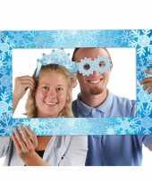 Goedkope foto props set lijst thema sneeuw
