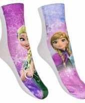 Goedkope frozen meisjes sokken pak roze
