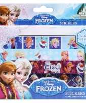 Goedkope frozen sticker box vellen