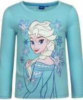 Goedkope frozen t shirt elsa blauw