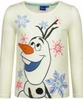 Goedkope frozen t shirt olaf wit
