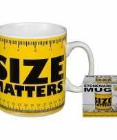 Goedkope fun koffiemok size matters